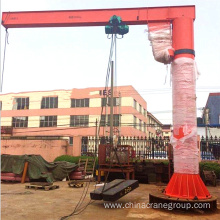 Jib crane with electric hoist 10 ton